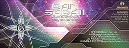 Party flyer: BAN SABAII Meets Switzerland 30 Sep '16, 22:00