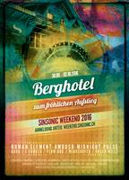 Party flyer: Berghotel zum fröhlichen Aufstieg 30 Sep '16, 16:00h