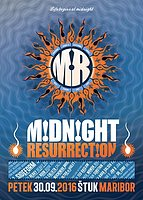 Party flyer: Midnight Resurrection with Sideform 30 Sep '16, 22:00