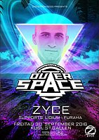 Party flyer: ZYCE @ Outerspace St.Gallen 30 Sep '16, 23:00