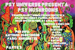 Party flyer: PSY MUSHROOMS parte 3 30 Sep '16, 22:00