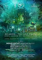 Party flyer: Aquatica 2016 w/ Bizarre Contact, Osher, Royal Flush u.v.m 1 Oct '16, 21:00
