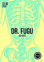 Party flyer: Doctor Fugu 1 Oct '16, 22:00
