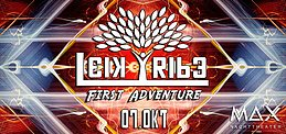 Party flyer: Leik Tribe - First Adventure 7 Oct '16, 22:00