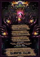 Party flyer: Psybox - *** DMT *** with AVALON - TECHNICAL HITCH - DARK WHISPER and more.... 7 Oct '16, 22:00h