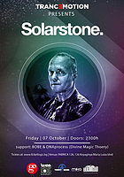 Party flyer: Tranc3motion pres. Solarstone - Fabrica 126 7 Oct '16, 23:00