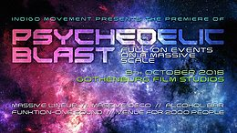 Party flyer: Psychedelic Blast 2016 8 Oct '16, 21:00h