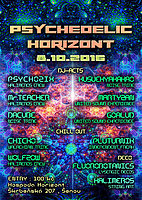 Party flyer: Psychedelic Horizont 2017 8 Oct '16, 20:00