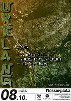 Party flyer: URKLANG /w Millivolt 8 Oct '16, 22:00