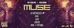 Party flyer: MUSE The Grand Opening @ Pasáž club 24 Oct '16, 22:00