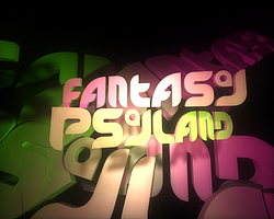 Party flyer: Fantasy Psyland meets ov-silence.music 28 Oct '16, 23:00