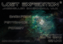 Party flyer: Lost Expedition² 28 Oct '16, 22:00
