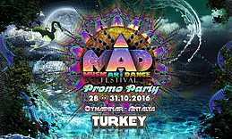 Party flyer: M.A.D. Festival Promo Party 28 Oct '16, 16:00h