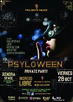 Party flyer: PSYLOWEEN Private Party 28 Oct '16, 21:00