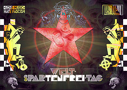 Party flyer: WELT-SPARtenfrei-TAG 28 Oct '16, 21:00