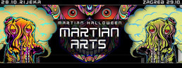 Party flyer: Oddvod vs. SasoMange - Martian Halloween pt. 2 29 Oct '16, 20:00