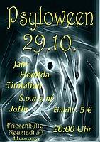 Party flyer: PSYLOWEEN 29 Oct '16, 22:00