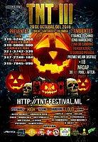 Party flyer: TNT Festival III Psychedelic Halloween Open Air 29 Oct '16, 18:00