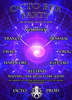 Party flyer: OCTO BER PARTY 30 Oct '16, 20:00
