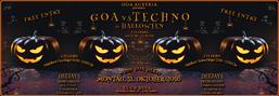 Party flyer: GOA vs TECHNO zu HALLOWEEN 31 Oct '16, 23:00