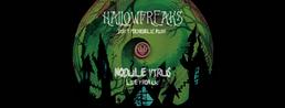 Party flyer: HALLOWFREAKS + After ModuleVirus Synchronicity Caveman Vemetik Yohanan LIVE ACTS 31 Oct '16, 22:00
