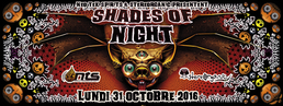 Party flyer: SHADES OF NIGHT 31 Oct '16, 18:00