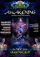 Party flyer: PSYBOX - *** Awakening *** with Morten Granau // Static Movement // Oxidaxi ... 4 Nov '16, 22:00