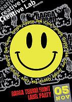 Party flyer: Creative Lab Presents: Ragga Terror Front Label Party 5 Nov '16, 23:30