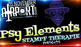 Party flyer: PSY ELEMENTS 5 Nov '16, 21:00