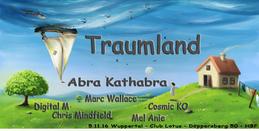 Party flyer: Traumland 5 Nov '16, 22:00