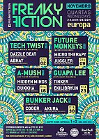 Party flyer: FREAKY FICTION 9 Nov '16, 23:00