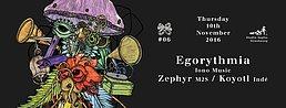 Party flyer: Consortium #06 w/ Egorythmia (Iono Music) 10 Nov '16, 23:00