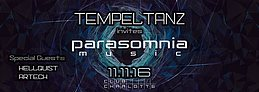 Party flyer: Tempeltanz 11 Nov '16, 23:00