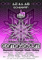Party flyer: ·•● Camakavum ●•· 3 Floors • 9 Liveacts • 8 Djs 12 Nov '16, 22:30