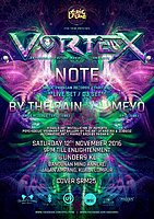 Party flyer: EPIC Tribe pres. VORTEX 12 Nov '16, 21:00