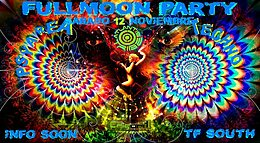 Party flyer: FULLMOON PARTY- TENERIFE SOUTH 12 Nov '16, 22:00