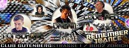 Party flyer: REMEMBERTRANCE ((M4LIONS-EVENTS)) Bahnhof Enge ZH 12 Nov '16, 22:00