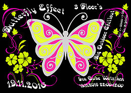 Party flyer: •☆.•*´¨`*•• ƸӜƷ Butterfly Effect ƸӜƷ ••*´¨`*•.☆• 19 Nov '16, 22:00h