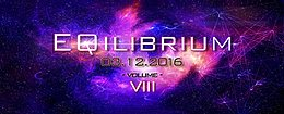 Party flyer: EQilibrium VIII 3 Dec '16, 22:00