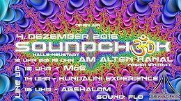 Party flyer: Soundcheck @ MoE, Kundalini Experience, Abshalom 4 Dec '16, 12:00