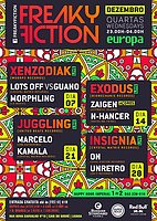 Party flyer: FREAKY FICTION 7 Dec '16, 23:00
