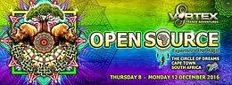 Party flyer: Vortex OpenSource Festival 2016 8 Dec '16, 10:00