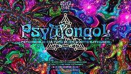 Party flyer: Delta Tribe pres. PsyMongol 9 Dec '16, 16:00