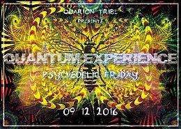 Party flyer: QUANTUM EXPERIENCE 9 Dec '16, 22:00