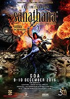 Party flyer: THE INITIATION - SANATHANA 8 Dec '16, 04:00