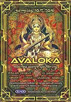 Party flyer: AVALOKA - Sacred Dance Gathering - Sarasvati 10 Dec '16, 21:00