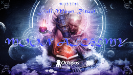 Party flyer: MOON Alchemy ॐ Full Moon Ritual 16 Dec '16, 23:00