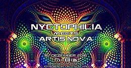 Party flyer: Nyctophilia meets Artis Nova 16 Dec '16, 23:00