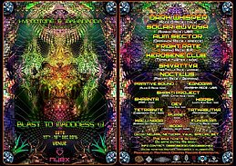 Party flyer: BLAST TO MADDNESS v1 17 Dec '16, 12:00