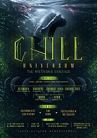 Party flyer: Chill Universum - the multiverse language /F1 SoundSystem 17 Dec '16, 21:00